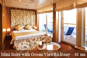 Mini Suite with Ocean view Balcony